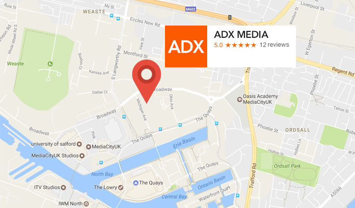ADX Media Salford Manchester UK